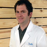 Josh Levy Image in Lab Coat for CarStory